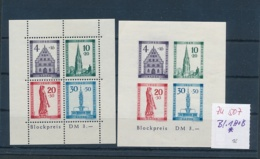 Baden Block 1 A+B  *   (zu507  ) Siehe Scan - Französische Zone