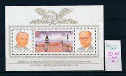Polen Block  102   **  (zu527  ) Siehe Scan - Blocks & Sheetlets & Panes