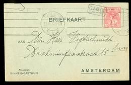 BRIEFKAART Gelopen In 1905 Van LOKAAL AMSTERDAM  (11.508c) - Periode 1891-1948 (Wilhelmina)