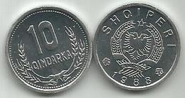 Albania 10 Qindarka 1988. High Grade - Albanie