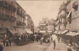 CPA 73 (Savoie) AIX LES BAINS / LA PLACE CARNOT / ANIMEE - Aix Les Bains