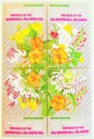 # Marshal Island 1986**Mi.128-31  Flowers , MNH  [25;130] - Pflanzen Und Botanik