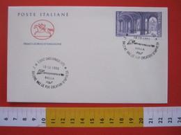A.08 ITALIA ANNULLO - 1990 GAGLIANICO VERCELLI BIELLA INTRAPRENDERE SALONE CREATORI IMPRESA INDUSTRIA ARTIGIANATO - Altri