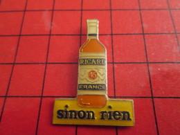 1017 Pin's Pins / Beau Et Rare : THEME BOISSONS / APERITIF ANISETTE RICARD SINON RIEN ... Ben Alors Rien ! - Boissons