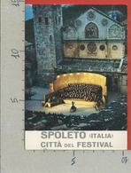 ITALIA - CARTOLINA DEDICATA - 1977 - SPOLETO (PG) Festival Dei Due Mondi - ANN. DEDICATO  COSI FAN TUTTE Al Melisso - Manifestations