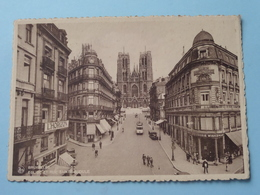 Eglise Et Rue Sainte-GUDULE ( Thill > Détail Voir Pub Reclame ) Anno 19?? ( Details Zie Foto ) ! - Lanen, Boulevards