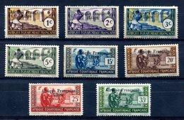 """AEF Surcharge """"Afrique Française Libre"""" Noire Entre Yvert 156 Et 164 Neuf TC - T 780 - Unused Stamps"""