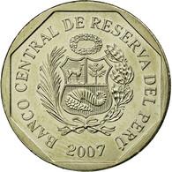 Monnaie, Pérou, Nuevo Sol, 2007, Lima, SUP, Copper-Nickel-Zinc, KM:308.4 - Pérou