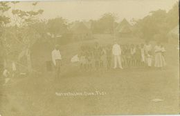 Fiji Islands, SUVA, Native Village (1910s) RPPC Postcard - Fidji