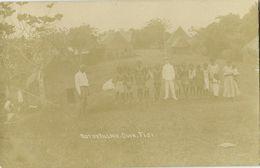 Fiji Islands, SUVA, Native Village (1910s) RPPC Postcard - Fiji