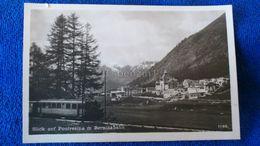 Blick Auf Pontresina M Berninabahn Switzerland - Suisse