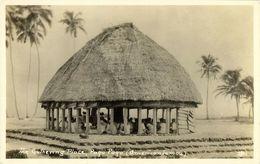 Samoa, PAGO PAGO, The Gathering Place (1920s) RPPC Postcard - Samoa