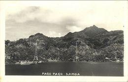 Samoa, PAGO PAGO, Panorama (1920s) RPPC Postcard - Samoa