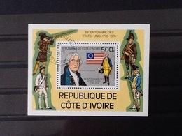 Cote D'Ivoir 200 Years 1776-1976. - Côte D'Ivoire (1960-...)