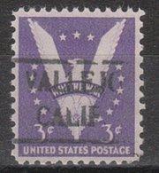 USA Precancel Vorausentwertung Preo, Locals California, Vallejo 492 - Vereinigte Staaten