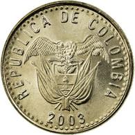 Monnaie, Colombie, 50 Pesos, 2003, SUP, Copper-Nickel-Zinc, KM:283.2 - Colombie
