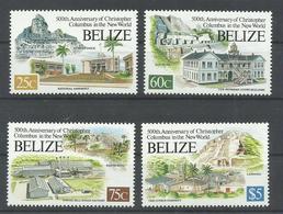 BELICE YVERT 982/85    MNH  ** - Belize (1973-...)
