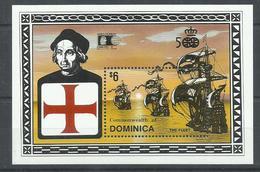 DOMINICA YVERT H/B 205   MNH  ** - Dominica (1978-...)