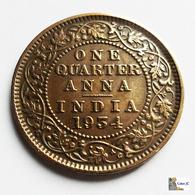 British India - 1/4 Anna - 1934 - Inde