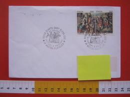 A.08 ITALIA ANNULLO - 1989 QUARTU SANT ELENA CAGLIARI COSTUME E FOLCLORE SARDEGNA ABITO FOLK - Costumi
