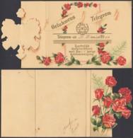Pays-Bas 1950 - Télégramme  Illustré (6G) DC1910 - Télégraphes