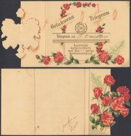 Pays-Bas 1950 - Télégramme  Illustré (6G) DC1910 - Telegraphenmarken