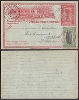 CONGO BELGE EP 10c +COB 56 DE IRUMU 17/07/1914  VERS MALINES (DD) DC-2050 - Stamped Stationery