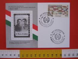 A.08 ITALIA ANNULLO - 1989 BORGOMANERO NOVARA 44 ANNI MORTE MORA E GIBIN PARTIGIANI RESISTENZA SECONDA GUERRA MONDIALE - Seconda Guerra Mondiale