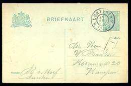 BRIEFKAART HANDGESCHREVEN Gelopen In 1917 Van LUNTEREN Naar KAMPEN  (11.508j) - Postal Stationery