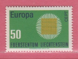 1970 ** (sans Charn., MNH, Postfrish)  Mi  525  Yv  477 ZUM  461 - Unused Stamps