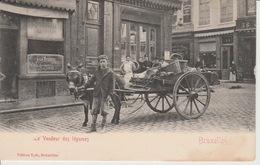 Bruxelles 1900 Le Vendeur Des Légumes - Petits Métiers
