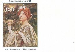 Calendrier (14 X 9 Cm) Collection JOB / 1901 / MAXENCE - Small : 1901-20