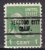 USA Precancel Vorausentwertung Preo, Locals California, Verdugo City 734 - Vereinigte Staaten