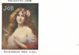 Calendrier (14 X 9 Cm) Collection JOB / 1899 / A. ASTI - Calendars