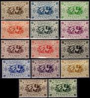REUNION 233 à 246 * MH Fruits Et Produits De La Réunion (CV 9,50 €) - Réunion (1852-1975)