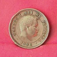PORTUGAL 5 REIS 1906 -    KM# 530 - (Nº27593) - Portugal