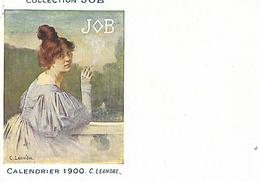 Calendrier (14 X 9 Cm) Collection JOB / 1900 / C. LEANDRE - Small : 1901-20