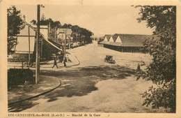 ESSONNE  SAINTE GENEVIEVE DES BOIS   Marché De La Gare - Sainte Genevieve Des Bois
