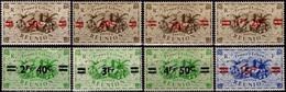 REUNION 252 à 259 * MH Fruits Et Produits De La Réunion (CV 5,10 €) - Réunion (1852-1975)