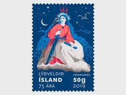 H01 Iceland 2019 The Republic Of Iceland - 75th Anniversary MNH Postfrisch - 1944-... Republik