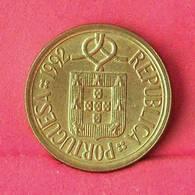 PORTUGAL 10 ESCUDOS 1992 -    KM# 633 - (Nº27599) - Portugal