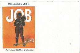 Affiche (14 X 9 Cm) / Calendrier /  Collection JOB / 1895 / F. BOUISSET - Kalenders