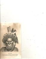Cpa Ononghe Un Grand Homme Maquillé Et Orné Pour La Danse - Papouasie-Nouvelle-Guinée