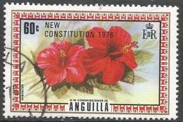 Anguilla. 1976 New Constitution. 60c Used. SG 236 - Anguilla (1968-...)