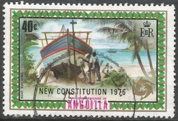 Anguilla. 1976 New Constitution. 40c Used. SG 235 - Anguilla (1968-...)