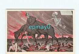 POLITIQUE SATIRIQUE -  VENTE à PRIX FIXE -  GUILLAUME II - WW1 - Kaiser - Illustrateur Pierre CHATILLON - Satirical
