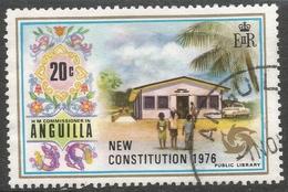 Anguilla. 1976 New Constitution. 20c Used. SG 233 - Anguilla (1968-...)