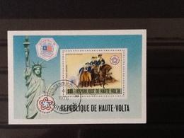 Republique De Haute Volta Block Bicentenaire De La Revolution. - Haute-Volta (1958-1984)