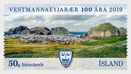 H01 Iceland 2019 The Municipality Of Vestmannaeyjar - 100th Anniversary MNH Postfrisch - 1944-... Republik