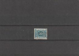 Belgique COB N° TX15A (sur Charnière) - Surcharge Roulers Roeselare - Taxes